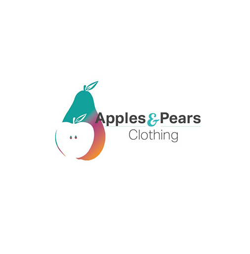 Apples & Pears Clothing redesigned logo.